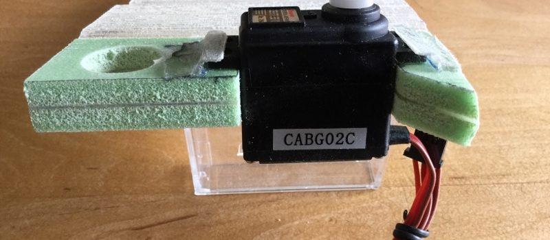Mast-/Kieltasche mit integrierter Servohalterung
