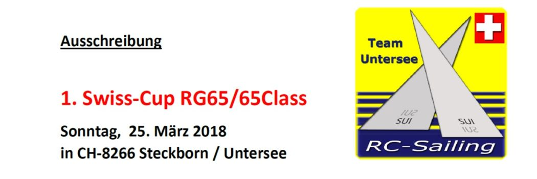 1. RG65 SwissCup in Steckborn, 25.3.2018